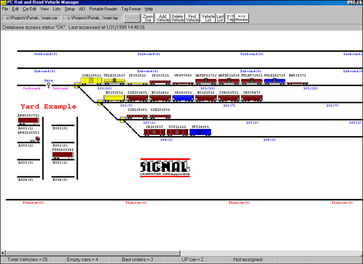 Aei Software For Tracking Rail Vehicles